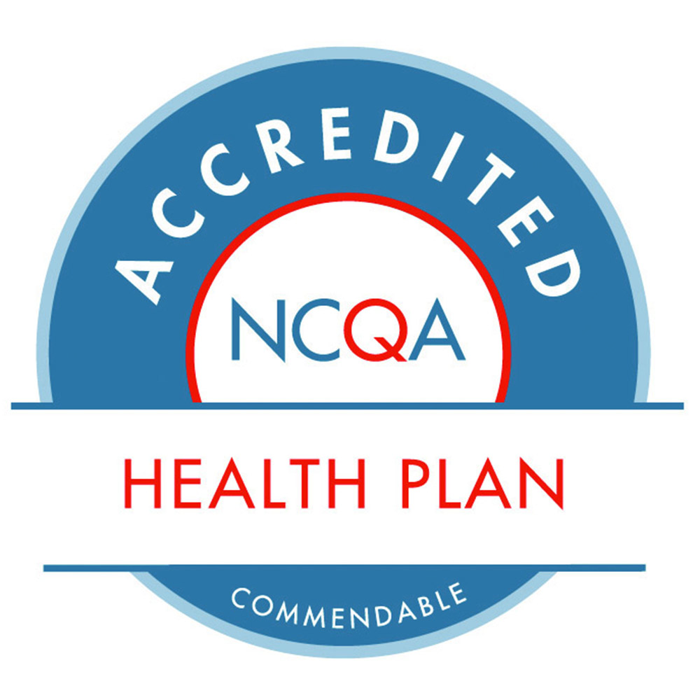 ncaq accredited health plan seal