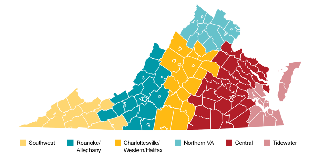 Regional VA Map