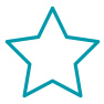 teal star icon