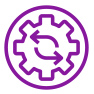 purple gear icon