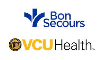 Virginia Premier, Bon Secours and VCU Health logos